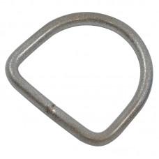 Кольцо D-ринг фурнитурное 6 мм