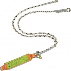 Строп верёвочный двойной с подсоединяемым разрывным амортизатором
