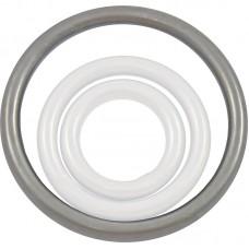 Кольцо такелажное 80 мм (оцинк.)