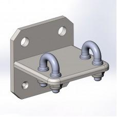 Промежуточный анкерный узел «Консоль обхода Скоба» (для плоскости)