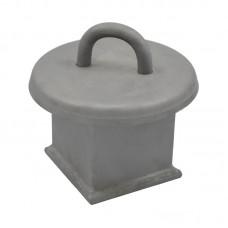 Анкерный столбик «ПОСТ ПС-1» потолочно-стеновой с петлёй (для сварочного монтажа)