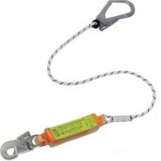 Строп верёвочный с разрывным амортизатором и карабинами (Монтажный + Монтажный малый)