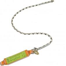 Строп верёвочный с подсоединяемым разрывным амортизатором
