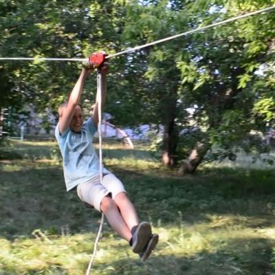 Комплект для верёвочного троллея «Тарзанка-В»