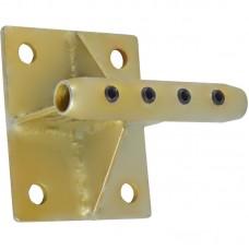 Консоль обхода с муфтой удерживающей для систем непрерывной страховки Калибер (для жёсткого крепления к плоскости)