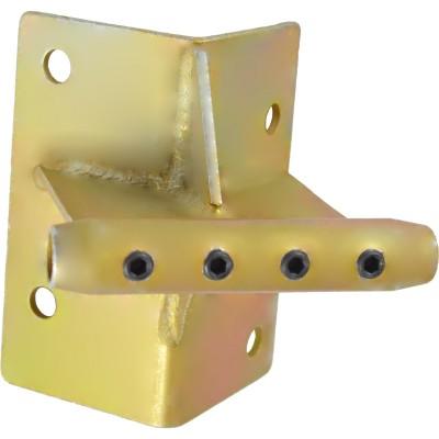 Консоль обхода с муфтой удерживающей для систем непрерывной страховки Калибер (для жёсткого крепления к углу)