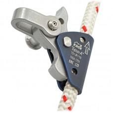 Зажим Бриг-АША (лёгкий зажим из алюминиевого сплава для большого диапазона верёвок с быстросоединительным алюминиевым шаклом)