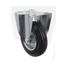 Колесо большегрузное с неповоротным кронштейном 160 мм (для тележек)