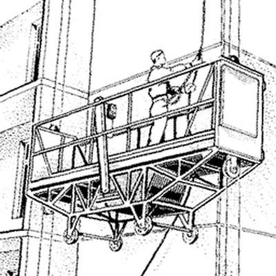 Комплект СИЗ от падения с высоты «При работе в строительных люльках»