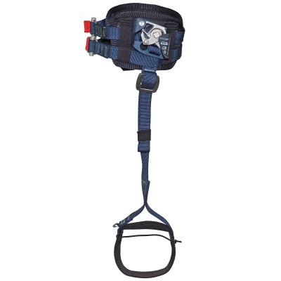 Подколенный пантин «Пром-ПрФП+С» (зажим для левой ноги с фиксатором и полужёсткой подушкой и стременем)