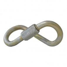 Карабин винтовой «Рапид-ОКТО» (спиралевидный овал, сталь, 70 кН)