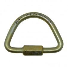 Карабин винтовой «Рапид-полукруг» (сталь, 70 кН)