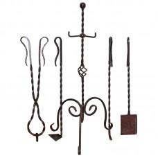 Комплект для камина или мангала