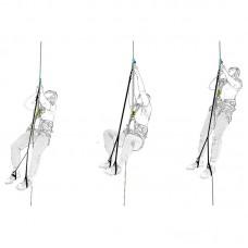 Комплект снаряжения для способа подъёма по веревке «Фрог»( жумар-нога-кроль-пояс)