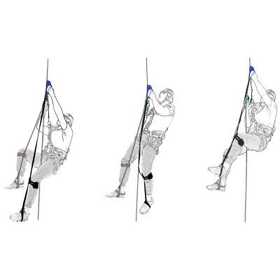 Комплект снаряжения для способа подъёма по веревке «Бриз» (жумар-нога-жумар-нога)