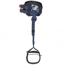 Подколенный пантин «Пром-ПрФП+С» (зажим для правой ноги с фиксатором и полужёсткой подушкой и стременем)
