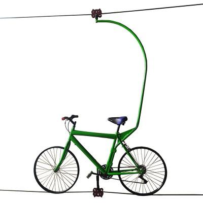 Велосипед канатный Zip bike в сборе