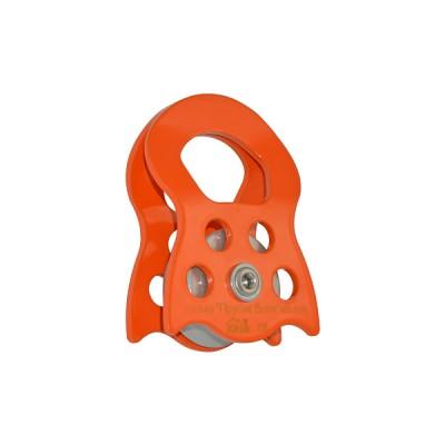 Прусик-блок «Спасатель-Люкс» одинарный (сплав алюминия, Ø35/27/12 мм)