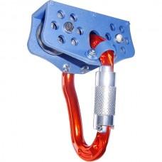 Мобильная анкерная точка ТРЭК-ЛЮКС (тандем, алюминий, с карабином «косой автомат АЛ»)