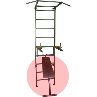 Навесная скамья-доска на шведскую лестницу