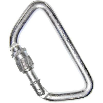 Карабин «ТРАПЕЦИЯ» (сталь, KeyLock, резьб. муфта, 50 кН)