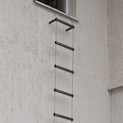 Лестница навесная тросовая стальная «ЛНТС»
