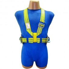 Пояс удерживающий (предохранительный) МОНТАЖНИК с плечевыми ремнями