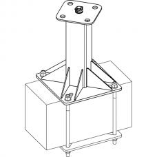 Анкерный столбик «ПОСТ-3» универсальный с вращающимся накопителем
