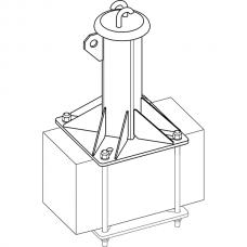 Анкерный столбик «ПОСТ-5» конечно-промежуточный