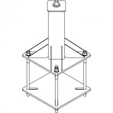 Анкерный столбик «ПОСТ-Ш» универсальный со шпилькой