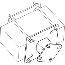 Анкерный столбик «ПОСТ ПС-2» потолочно-стеновой с неподвижным накопителем