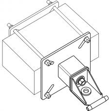 Анкерный столбик «ПОСТ ПС-4» потолочно-стеновой с консолью обхода