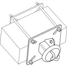 Анкерный столбик «ПОСТ ПС-5» потолочно-стеновой конечно-промежуточный