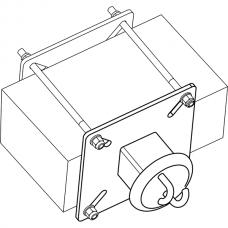 Анкерный столбик «ПОСТ ПС-ПР» потолочно-стеновой промежуточный с полупетлями