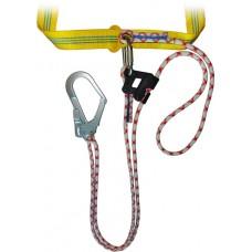 Строп верёвочный регулируемый с карабинами и зажимом «Гиббс»