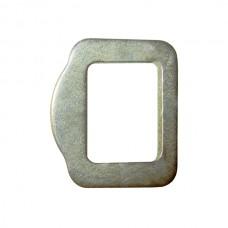 Пряжка 27 мм О-образная стальная