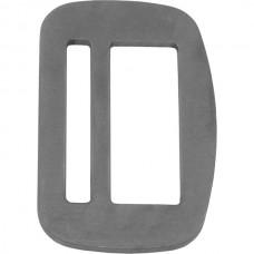 Пряжка 47 мм двухкомпонентная без косых щелей