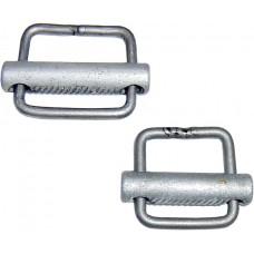 Пряжка рамочная самозажимная (20 и 25 мм, нерж. сталь)