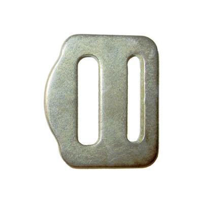 Пряжка 27 мм двухщелевая стальная
