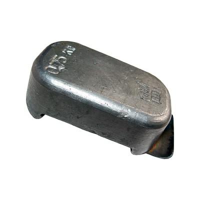 Груз для дайвинга — вес 0,75 кг быстросъёмный