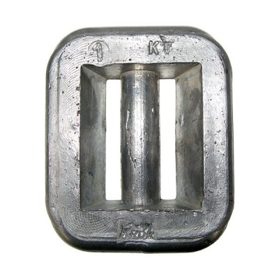 Груз для дайвинга — вес 1 кг