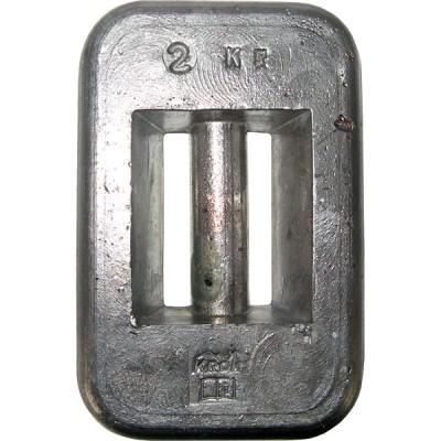 Груз для дайвинга — вес 2 кг
