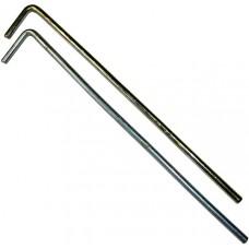 Колышек для палатки Ø 4 мм стальной жёсткий