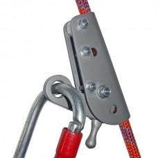 Зажим «Гиббс- Лодочка» (средство защиты ползункового типа для канатов 8-12мм)