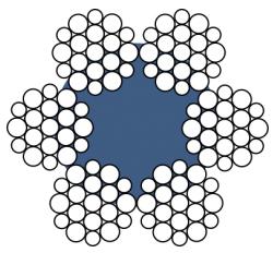 Канат стальной (трос) ГОСТ 2688-80