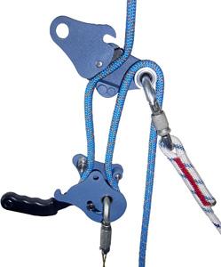 Спусковое устройство УЛИТКА может быть использовано для подъёма по верёвке
