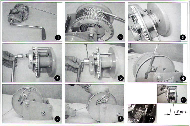 Правила использования и рекомендации по эксплуатации лебёдки