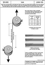 EN-565 UIAA-103 Tape (Лента)