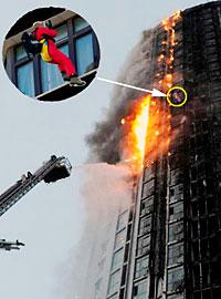 средство эвакуации с последних этажей зданий